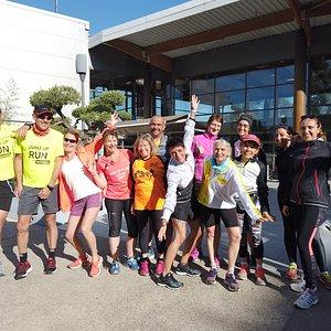 découvrez les joies  du running chaque semaine au départ du Decathlon Village .  rendez vous sur activites.decathlon.fr