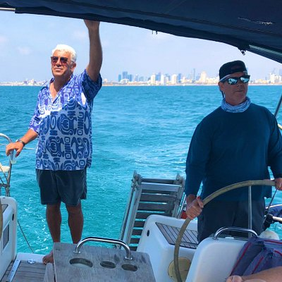 So much fun sailing with Captain Roni 😀