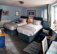 Crackington superior twin ground floor room