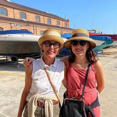 Stadtführerinnen Susanne und Isabel Kunz Saponaro