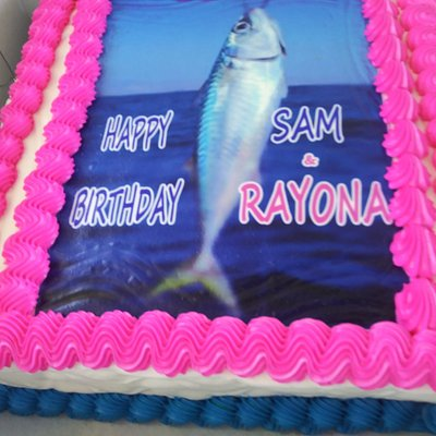 Lovely birthday fishing trip with Captain Keith and crew. They are the best. We did hook them to cook them.