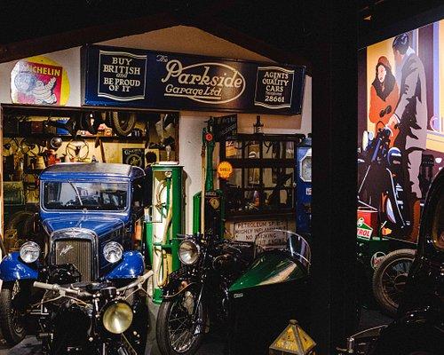 Interwar garage