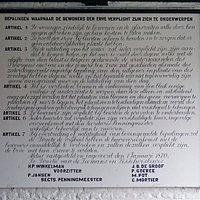 Regulation for the resident