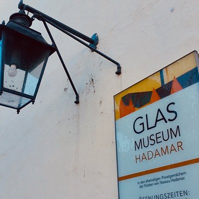 Entrance to the glass museum