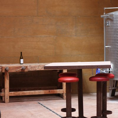 Wine tasting in the wine cellar