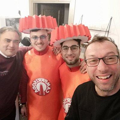 Carnevale 2019 Campari goooo