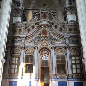 Alibey Cami iç yapısı