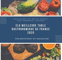 """""""Cuisine créative se faisant l'écho du patrimoine culinaire français"""" Guide Tables & Auberges de France 2020"""