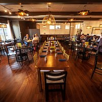 Beautiful new dining room once again open for dine-in service