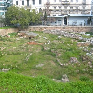Fascinating open archaeological site