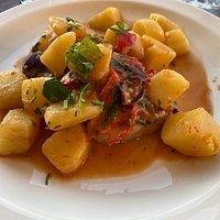 Baccalà con patate: squisito e saporito