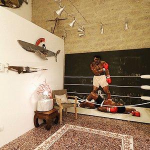 The new gallery in San Pantaleo, via Maddalena 3