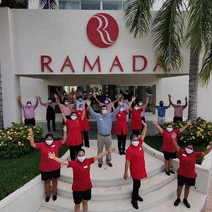Bienvenidos,  Hotel Ramada by Wyndham Cancun City les da la bienvenida a la nueva cultura de seguridad e higiene