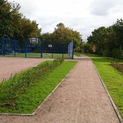 Площадка для игры в теннис