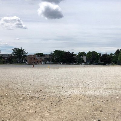 This is Bloordale Beach. The sand is amazing!