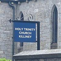 Outstanding Church that backs onto Killiney Hill