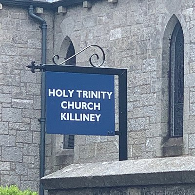 Outstanding Church that backs onto Killiney Hill