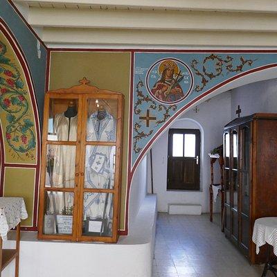 Inside Church of Virgin Mary