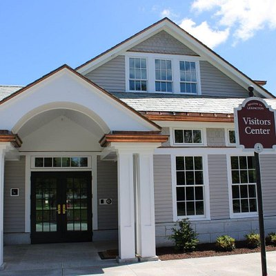 This is the front side of the new Visitors Center.