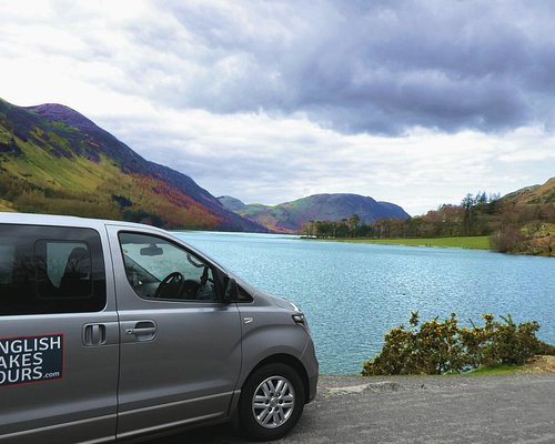 One of our vehicles stopped at Buttermere