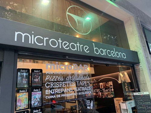 Entrada Microteatre Barcelona