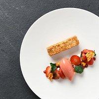 White Chocolate and Strawberry
