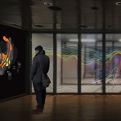 An inside view from the Geothermal Exhibition