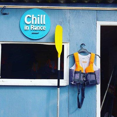Centre de kayaks et paddles à Plouer sur rance
