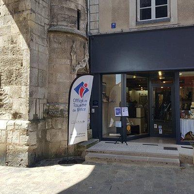 Office de Tourisme d'Auxerre et de l'Auxerrois - devanture