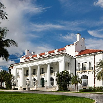 Whitehall is a National Historic Landmark and is open to the public as the Flagler Museum, offering self-guided tours, changing exhibitions, and special programs.