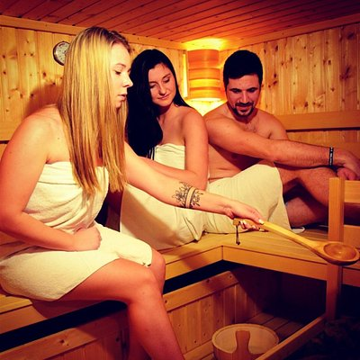 Massages, therapies, sauna.