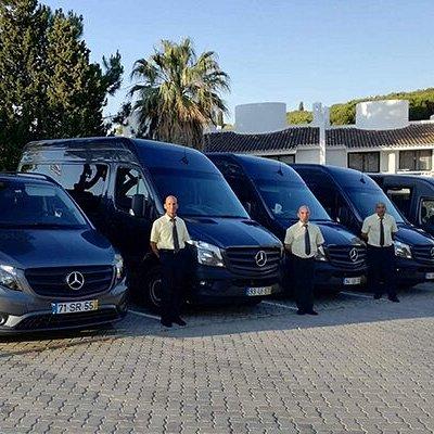 ezClick Faro Airport Transfers Fleet