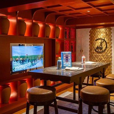 El pabellón de Ningxia, descubra vinos sobre la región productora de vinos más emblemática de China / Ningxia's pavilion, discover wines from the most emblematic wine region in China.