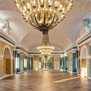 Spiegelsaal im Schloss Köthen