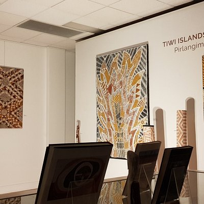 Our exhibition held at Earlywork in South Fremantle in June 2020 featuring the art of the Tiwi Islands and Arnhemland