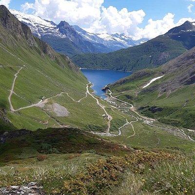 Passo E Lago Di Gries