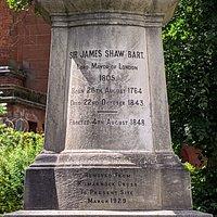Sir James Shaw Monument