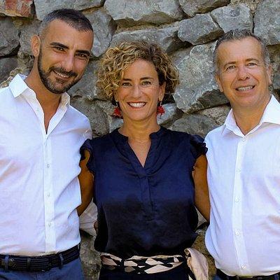 Mauro, Marcella e Alberto Amato