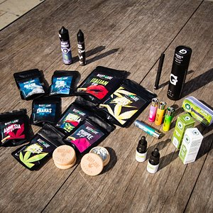 Some of our products that you can find in our shop in Jesolo