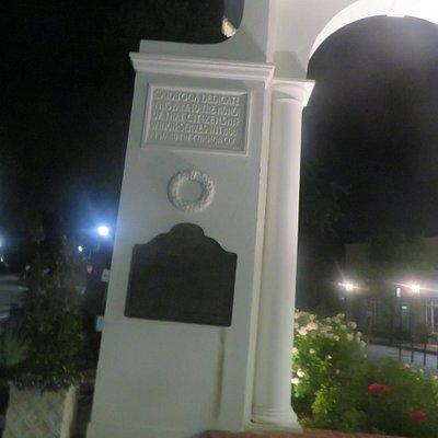 Saratoga World War I Memorial, Saratoga, Ca