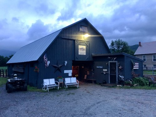 The gorgeous barn where your trip begins and ends