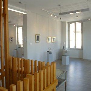 galerie d'expositions temporaires