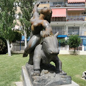 Escultura El Rapto De Europa