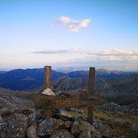 Punta Cupeti 1029 metri sul livello del mare uno dei punti più panoramici del Montalbo di Siniscola