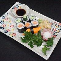 Das Sushi-Menü S1 ist perfekt für Kunden , die unser leckeres Sushi erstmals ausprobieren wolltet .