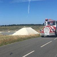 Traversée des marais salants de Guérande