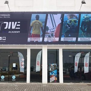 Dive base entrance.