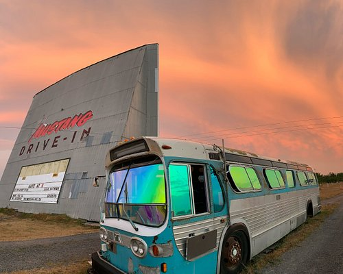 Welcome to the Mustang! We can't guarantee a sunset like this every night, but the odds are in your favour...