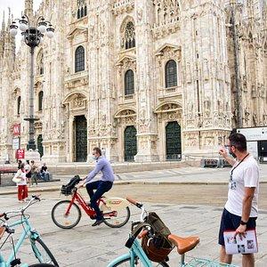 Our bike tour in Duomo
