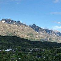 Utsikt mot Dønna og Herøy og de syv søstre